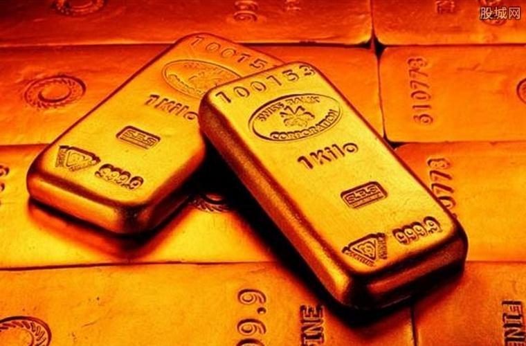 黄金期货价格收盘上涨