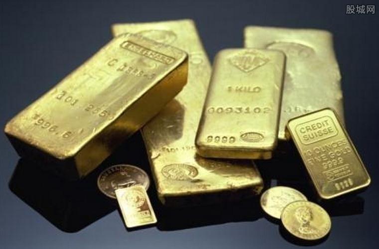黄金期货价格周三上涨