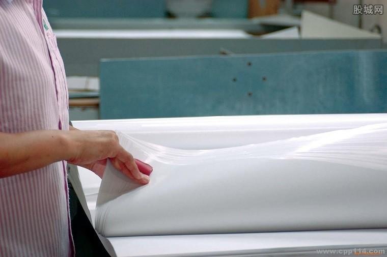 造纸行业中期业绩靓丽