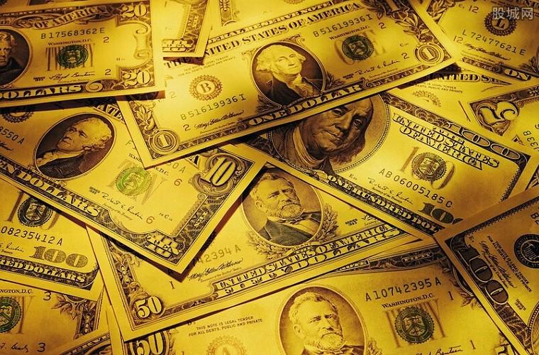美元指数直线拉升