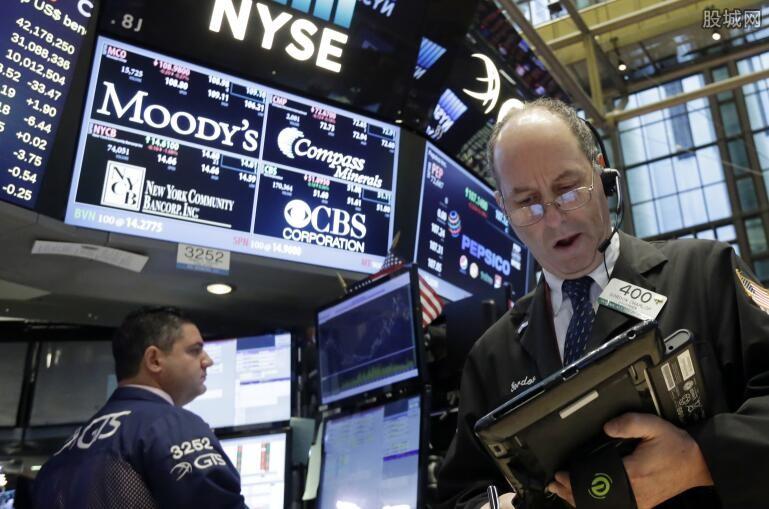 纽约股票市场指数上涨