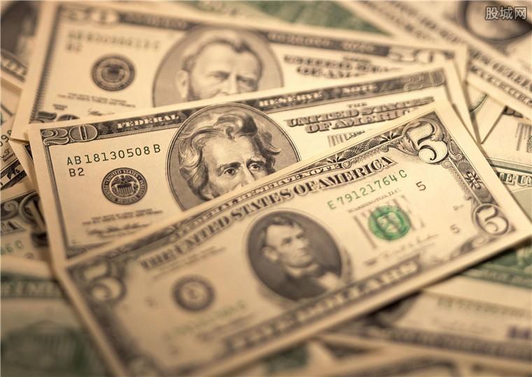 美元对主要货币下跌