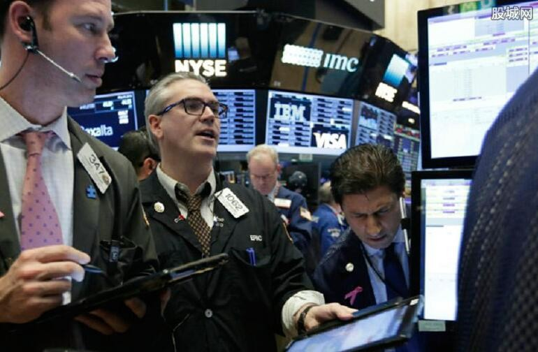 纽约三大股指涨跌互现