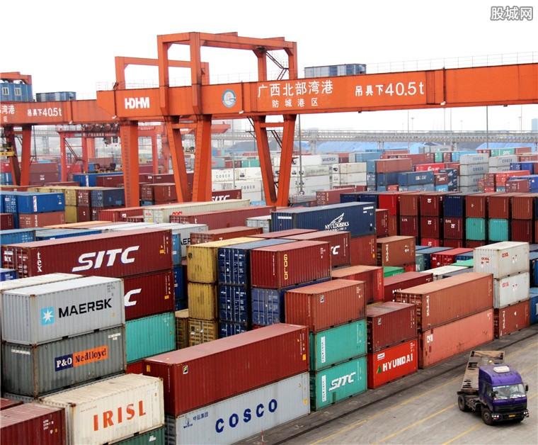 外贸型上市公司出口额稳增