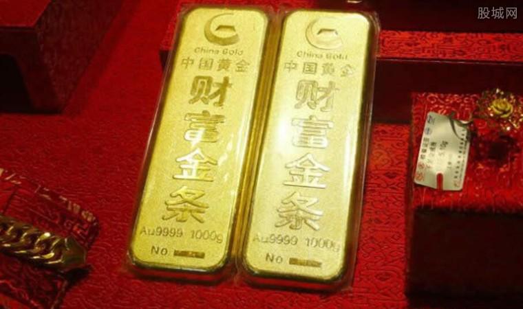 黄金期价实现技术性反弹