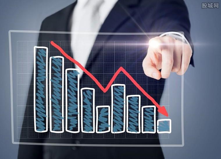 麦趣尔股价呈下降趋势