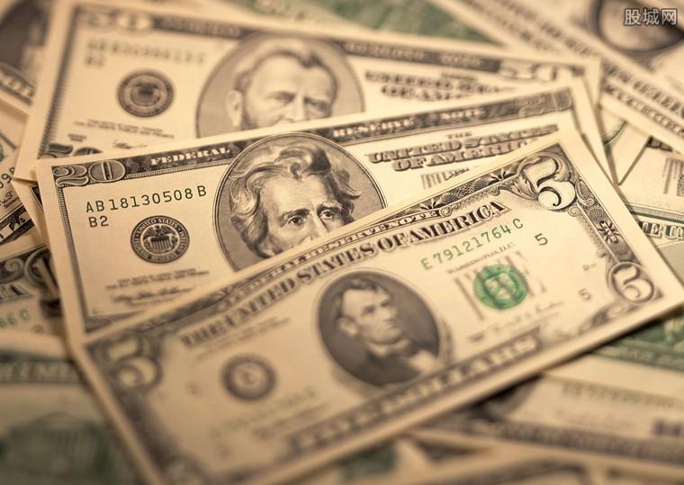 美元对六种主要货币