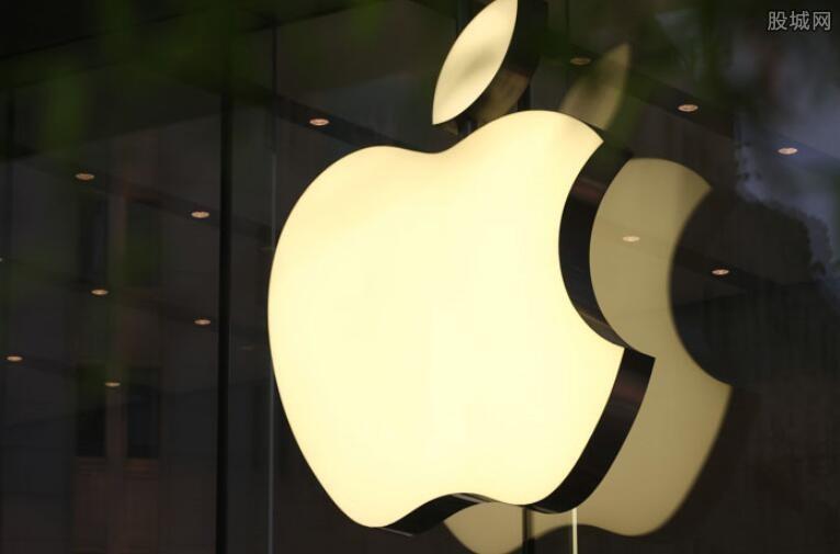 苹果股价周二低开4%