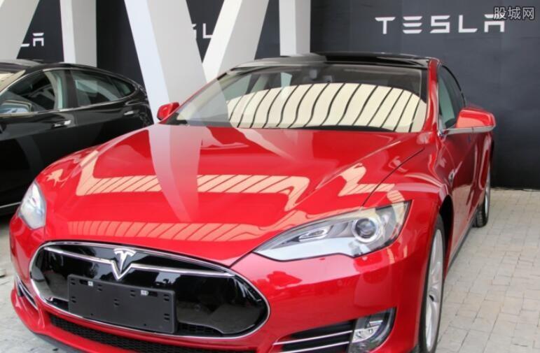特斯拉电动汽车充电桩