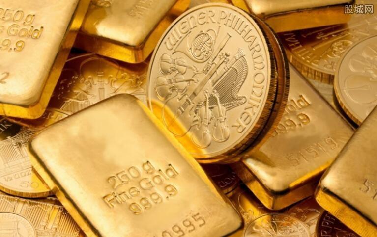 黄金概念股今日走低