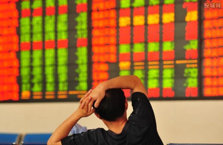 两市个股跌多涨少