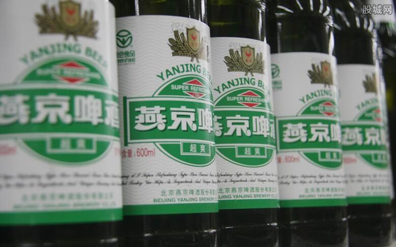 啤酒股早盘集体拉升