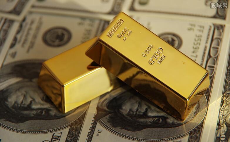 国际黄金每盎司