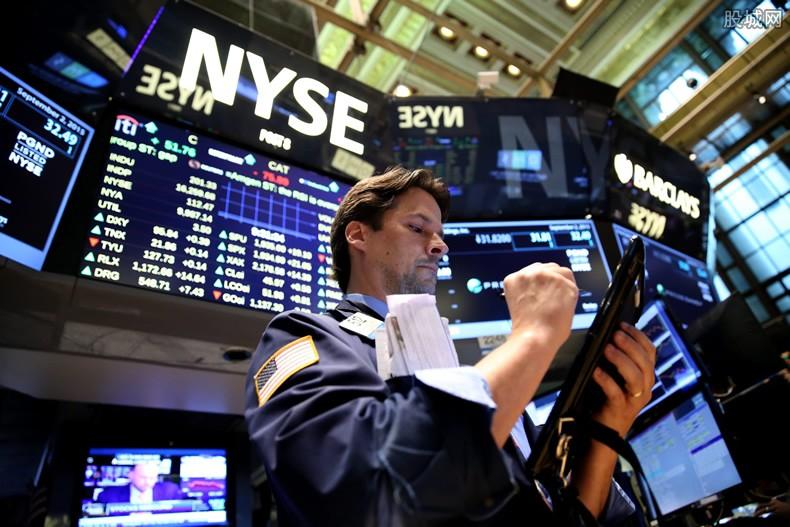 苹果股价领跌大型科技股