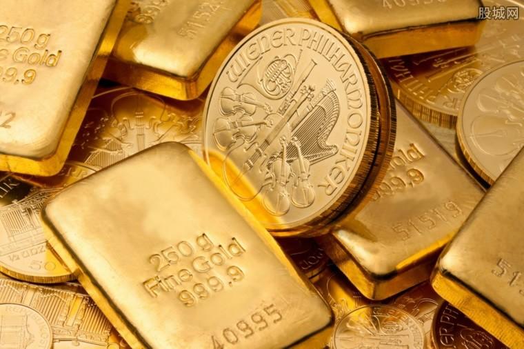 黄金大涨受益股