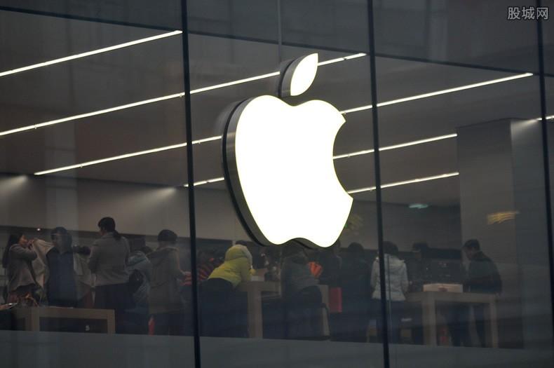 苹果股价走势