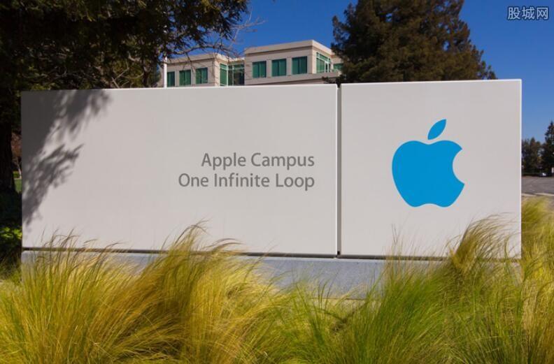 苹果股价大涨市值重回万亿
