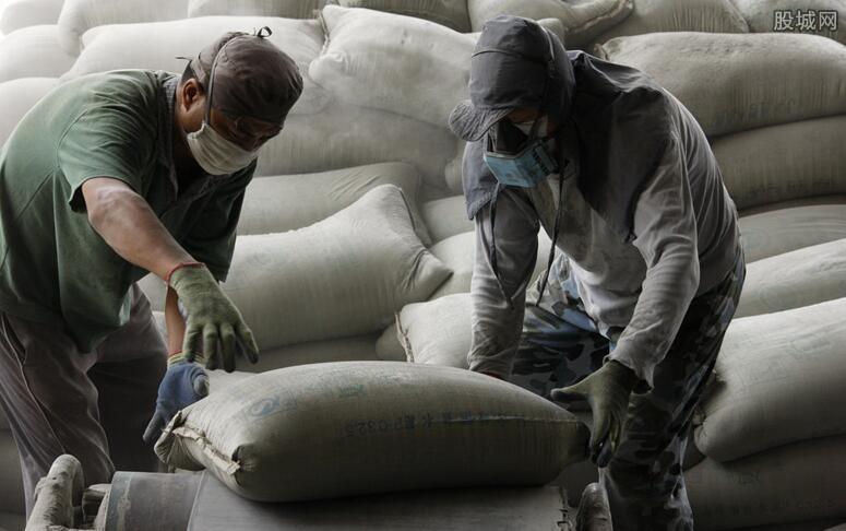 水泥价格每吨上涨30元
