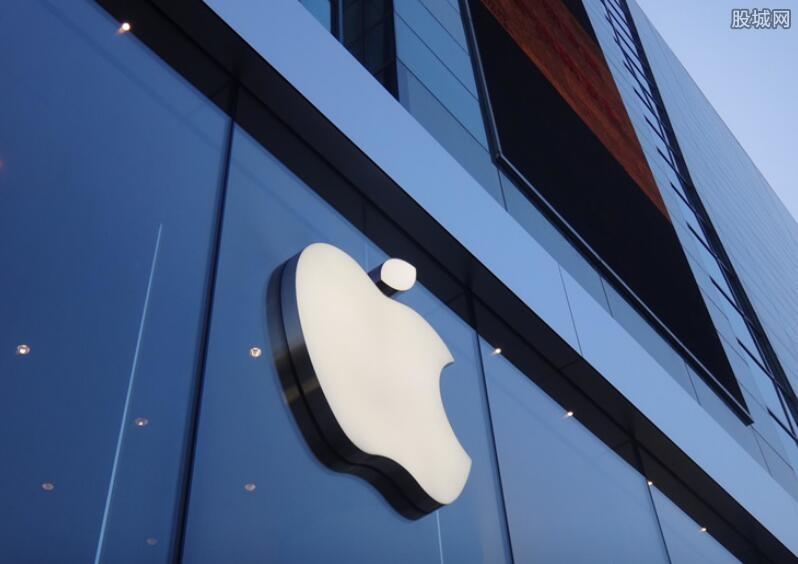 苹果最新市值