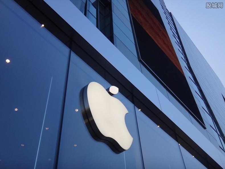 苹果市值多少
