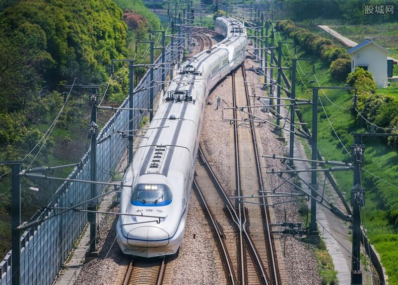 京沪高铁上市