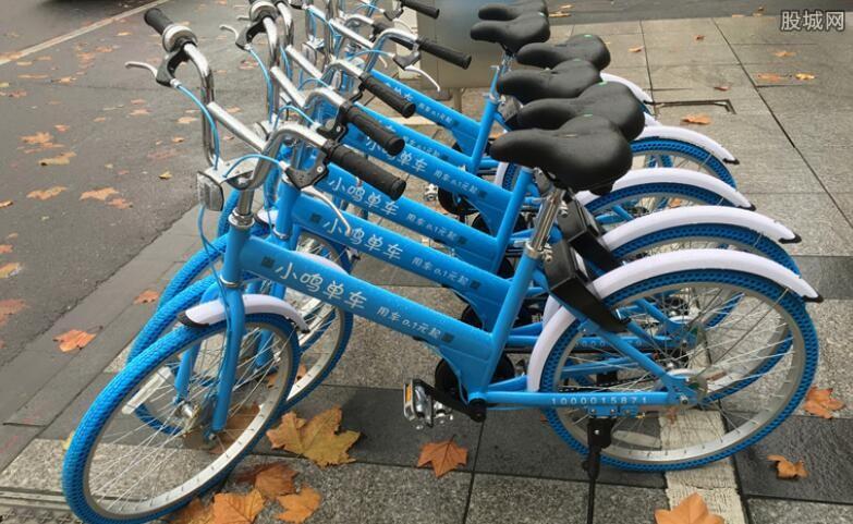 共享单车概念异动拉升