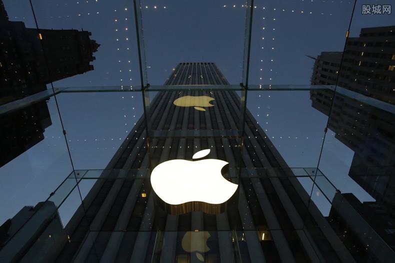 苹果最新股价