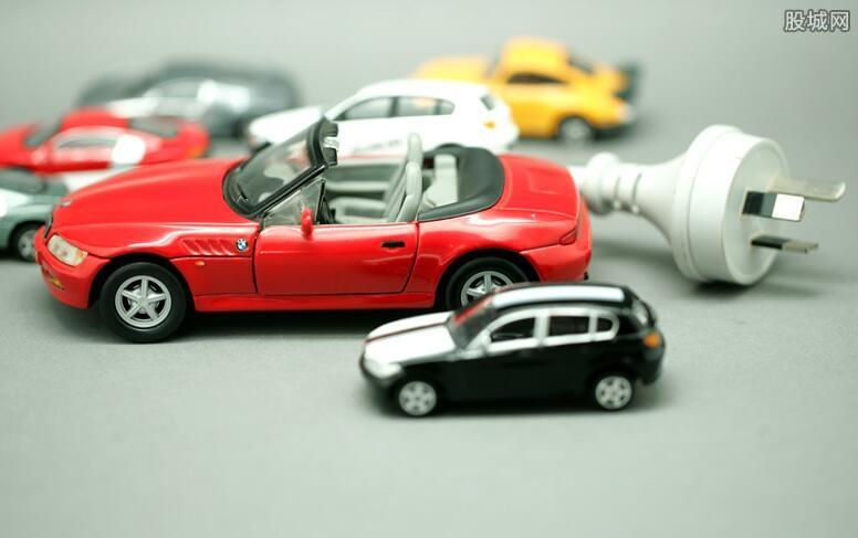 汽车整车概念股开盘大涨