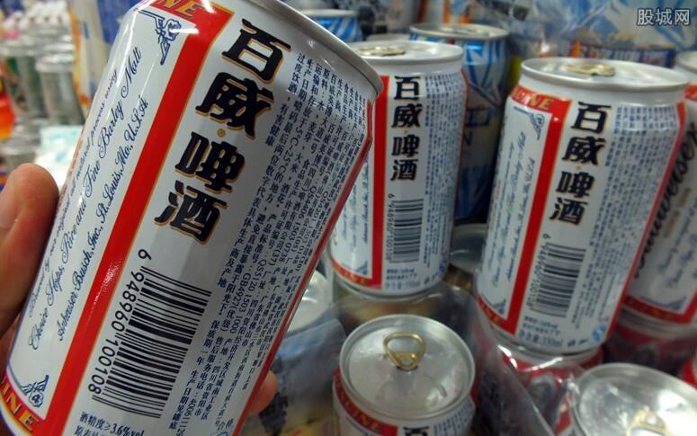 啤酒概念股午后领跌