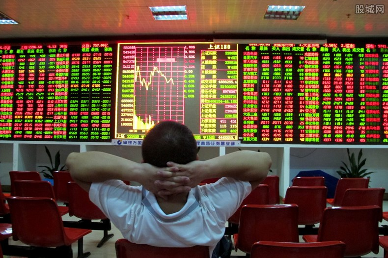 中国中免股价跳水